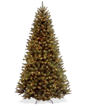 National Tree Company 9 North Valley Spruce Hinged Tree With 700 Clear Lights