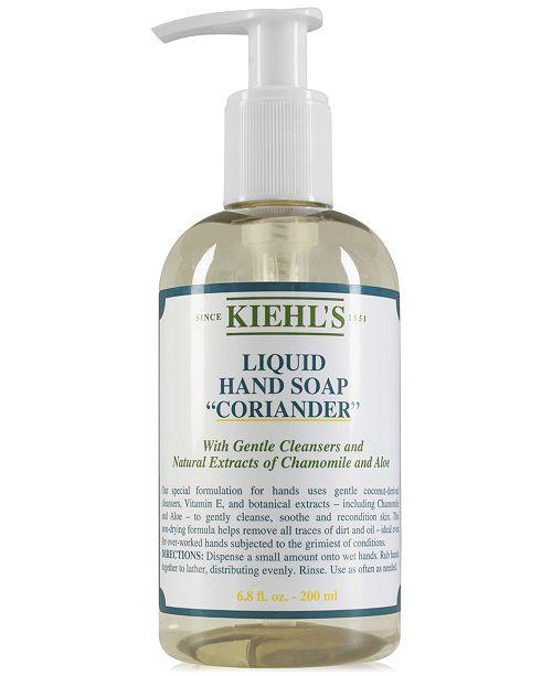 Kiehl's Since 1851 Liquid Hand Soap - Coriander, 6.8-oz.