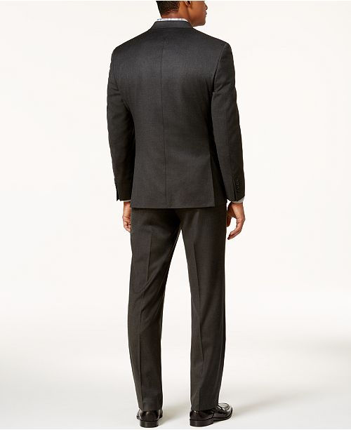 b5ddac377e07 ... Charcoal Suit; Marc New York by Andrew Marc Men's Classic-Fit Solid  Charcoal ...