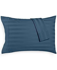 Bergen Stripe Standard Pillowcases, 1000 Thread Count 100% Certified Egyptian Cotton
