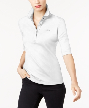 Lacoste ELBOW-SLEEVE POLO SHIRT