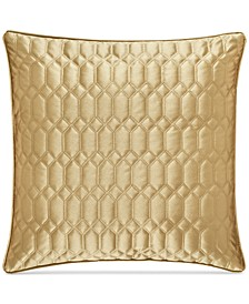 "Satinique Quilted 20"" Square Decorative Pillow"