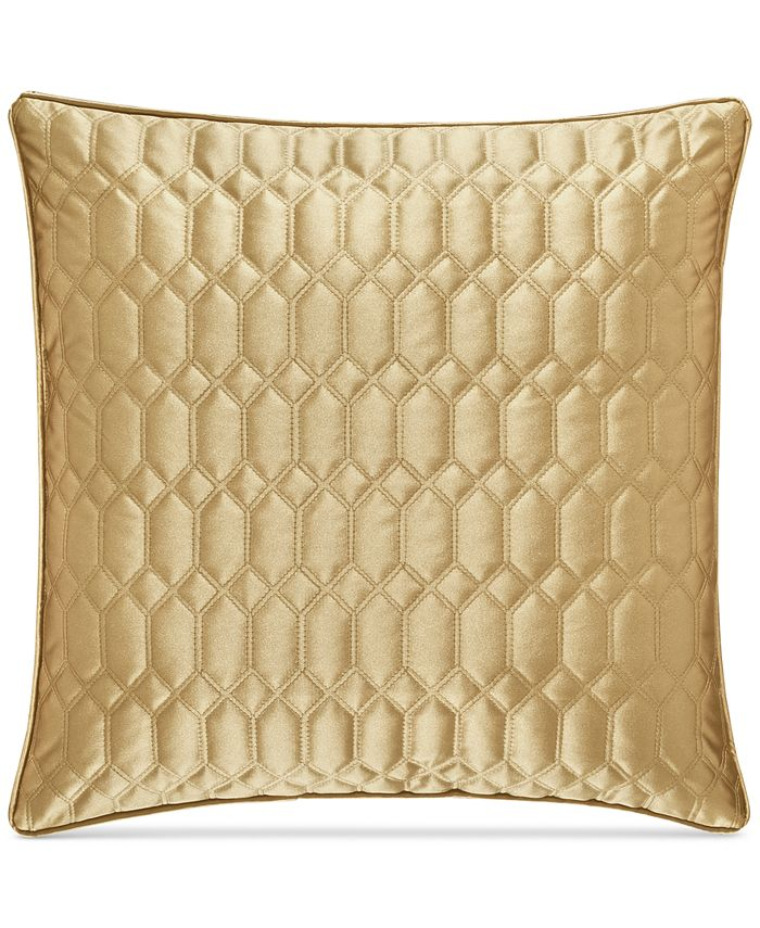 """J Queen New York - Satinique Quilted 20"""" Square Decorative Pillow"""