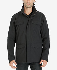 Michael Kors Men's Hidden-Hood Stretch Field Jacket
