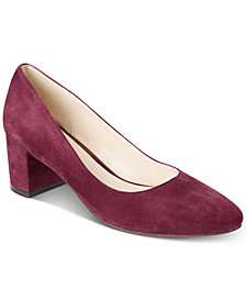 Cole Haan Justine Block-Heel Pumps