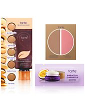 Receive a Free 3pc gift with any Tarte Tartelette Palette purchase
