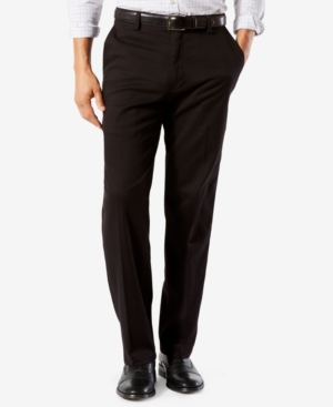Men's Easy Classic Fit Khaki Stretch Pants