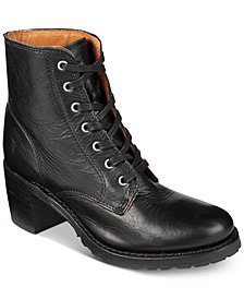 Frye Women's Sabrina Lace-Up Boots