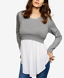 RIPE Layered-Look Nursing Top
