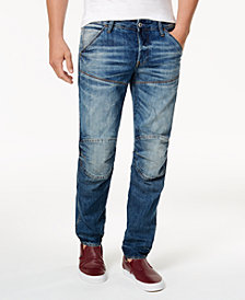 G-Star RAW 5620 Men's Slim Fit Deconstructed Tapered Jeans