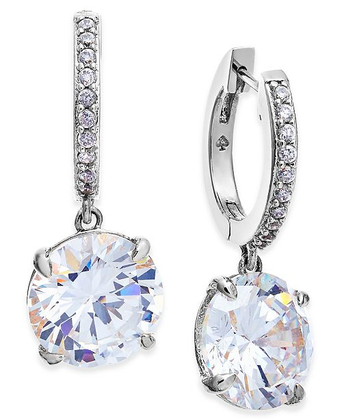 7713e4e08 ... Drop Earrings; kate spade new york Crystal and Pavé ...