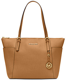 MICHAEL Michael Kors Jet Set Item Extra-Large East West Top Zip Tote