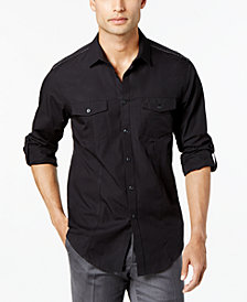 I.N.C. Men's Core Topper Shirt, Created for Macy's