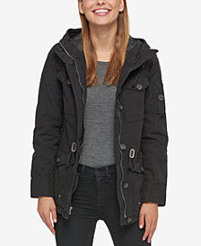 Levi's® Hooded Military Jacket