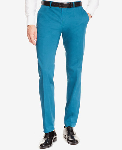 BOSS Men's Slim-Fit Stretch Dress Pants