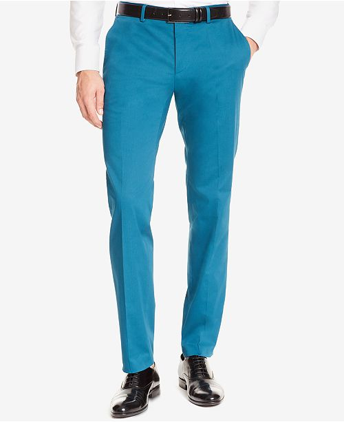 Hugo Boss BOSS Men's Slim-Fit Stretch Dress Pants