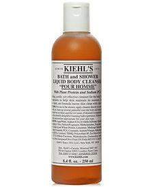 Kiehl's Since 1851 Bath & Shower Liquid Body Cleanser - Pour Homme, 8.4-oz.