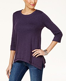 Layered-Hem Top, Created for Macy's