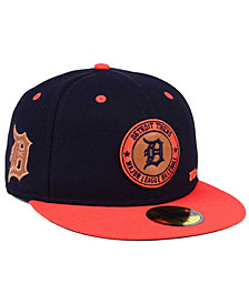 New Era Detroit Tigers X Wilson Circle Patch 59FIFTY Fitted Cap