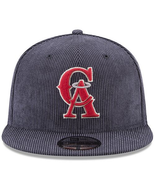 purchase cheap f6acd dc7fb ... New Era Los Angeles Angels All Cooperstown Corduroy 9FIFTY Snapback Cap  ...