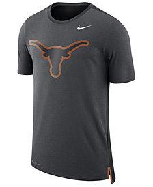 Nike Men's Texas Longhorns Meshback Travel T-Shirt