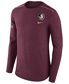 Nike Men's Florida State Seminoles Dri-Fit Breathe Long Sleeve T-Shirt