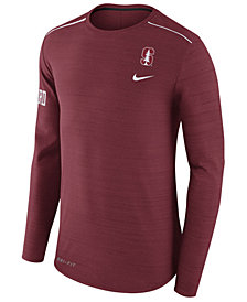 Nike Men's Stanford Cardinal Dri-Fit Breathe Long Sleeve T-Shirt