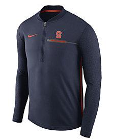 Nike Men's Syracuse Orange Coaches Quarter-Zip Pullover