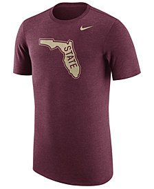 Nike Men's Florida State Seminoles Vault Logo Tri-Blend T-Shirt