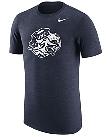 Men's North Carolina Tar Heels Vault Logo Tri-Blend T-Shirt