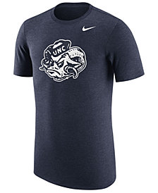 Nike Men's North Carolina Tar Heels Vault Logo Tri-Blend T-Shirt
