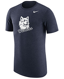 Nike Men's Connecticut Huskies Vault Logo Tri-Blend T-Shirt