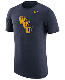 Nike Men's West Virginia Mountaineers Vault Logo Tri-Blend T-Shirt