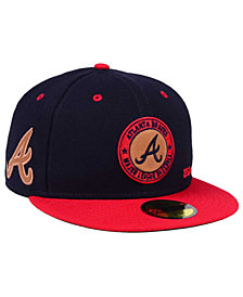 New Era Atlanta Braves X Wilson Circle Patch 59FIFTY Fitted Cap