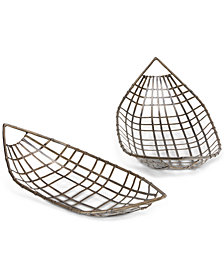 INK+IVY Chabot Tray, Set of 2