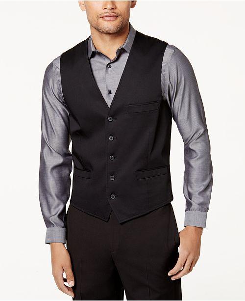 INC International Concepts INC Men's Collins Slim-Fit Vest, Created for Macy's