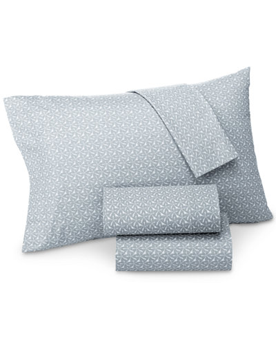 CLOSEOUT! Lucky Brand Santa Fe Cotton Sateen 230 Thread Count King Pillowcase Pair, Created for Macy's