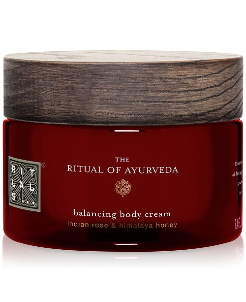 Ritual Of Ayurveda Balancing Body Cream