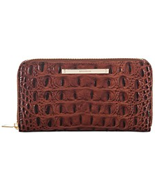 Suri Melbourne Embossed Leather Wallet