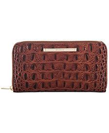 Brahmin Suri Melbourne Embossed Leather Wallet