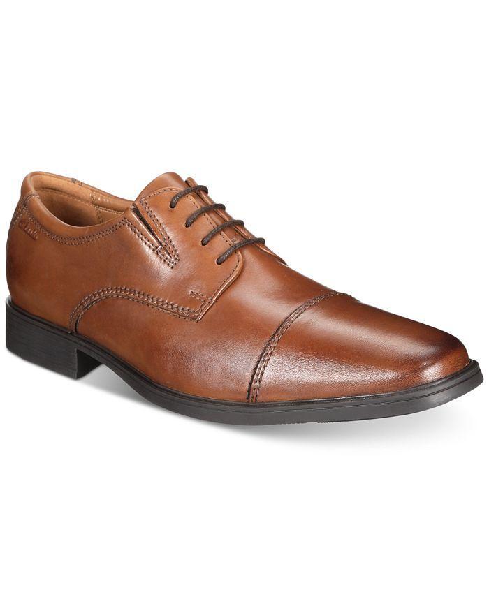 Clarks - Men's Tilden Cap Toe Dress Shoes