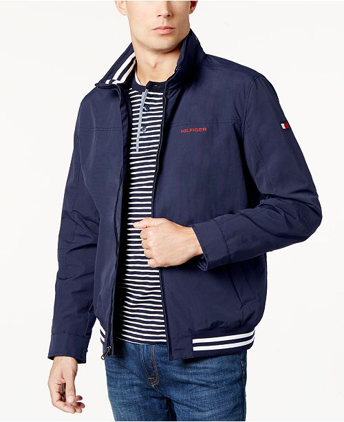Tommy Hilfiger Men s Regatta Jacket, Created for Macy s - Hoodies ... 133f9d4a9d