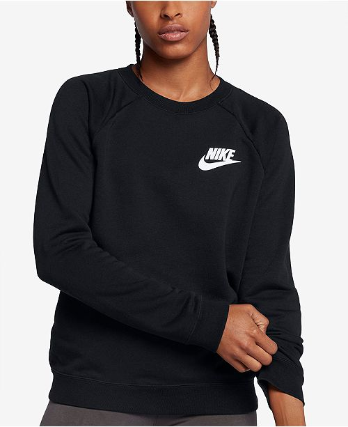 82d4a102 Nike Sportswear Rally French Terry Sweatshirt & Reviews - Tops ...