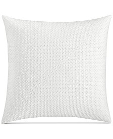 """CLOSEOUT! Hotel Collection Inlay Cotton 18"""" Square Decorative Pillow, Created for Macy's"""