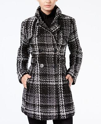 Peacoat Juniors Coats - Macy's