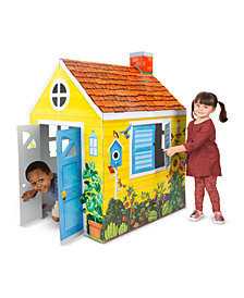 Melissa & Doug Cottage Playhouse