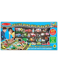 Melissa & Doug Deluxe Road Rug Play Set Playmat