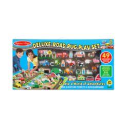 Melissa & Doug Deluxe Road Rug Play Set Playmat
