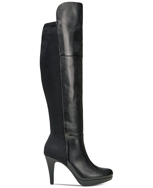 7d2c5e27ca9 Adrienne Vittadini Plymouth Over-the-Knee Boots   Reviews - Boots ...