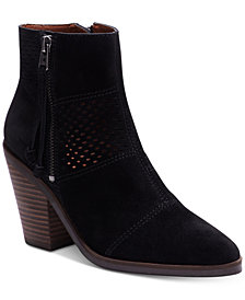 Lucky Brand Women's Ramses Block-Heel Booties